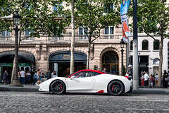 Chillin' on the Champs Elysee. (Ednshots) Tags: ferrari 458 speciale 458speciale blacklist itswhitenoise supercar