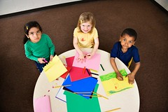Stock Images (perfectionistreviews) Tags: 3 africanamerican art artclass artistic black blond boy brunette caucasian cheerful child children class classroom crafts creative creativity drawing education elementaryschool female girl grinning group happiness happy highangle hispanic horizontal indoors inside kid kids male people person project smile smiling student table three waistup young latino color photograph childhood cute lookingatviewer portrait