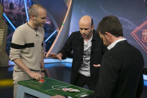 Andres Iniesta se ha divertido en El Hormiguero...