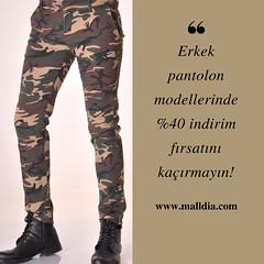 Bu fırsat kaçmaz! 😎 (malldiastorecom) Tags: pants man style fashion soldier