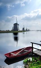 2018.04 Viking Rhine River Cruise - Kinderdijk (Traci L.A.) Tags: 2018 europe kinderdijk netherlands holland viking rhine river cruise april windmill m