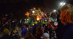Here Comes Smokey Mary! (BKHagar *Kim*) Tags: bkhagar mardigras neworleans nola la parade celebration people crowd beads outdoor street napoleon uptown night orpheus smokeymary float train