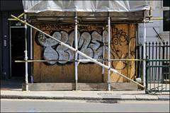 Time (Alex Ellison) Tags: brighton england uk urban graffiti graff boobs time osv