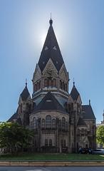 ehemalige evangelisch-lutherische Gnadenkirche (ulrichcziollek) Tags: hamburg kirche gnadenkirche russisch orthodox gegenlicht