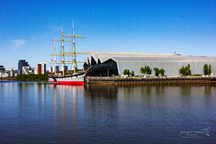 Glasgow 16 May 2018 00437.jpg (JamesPDeans.co.uk) Tags: sailingship forthemanwhohaseverything landscape ships gb printsforsale firthofclyde transporttransportinfrastructure tallship strathclyde sea reflection unitedkingdom shore coast scotland britain river riverclyde wwwjamespdeanscouk digitaldownloadsforlicence jamespdeansphotography greatbritain landscapeforwalls europe uk glasgow