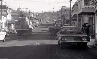 Looking south on South Road, Caversham, c1975