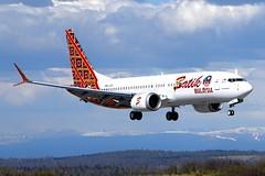9M-LRC, Batik Air Malaysia, Boeing 737-8MAX, PANC, May 2017 (a2md88) Tags: