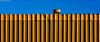 Geometría industrial. 08. Arrecife, Lanzarote, abril 2007. (Jazz Sandoval) Tags: 2007 amarillo azul arquitectura arrecife abstracción building blue contraste canarias color curiosidad calle colour curiosity city ciudad cielo contrast digital day dìa elfumador españa exterior enlacalle fotografíadecalle fotodecalle fotografíacallejera fotosdecalle geometría gráfico geometrías geometry geometrìa islascanarias ilustración jazzsandoval sky luz lanzarote light lines lineas murosyvallas naranja orange panorámica pared equilibrio streetphotography streetphoto yellow