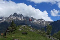 Mex et le Massif de Morcles (bulbocode909) Tags: valais suisse mex massifdemorcles dentsdemorcles montagnes nature printemps paysages nuages drapeaux bancs arbres vert bleu groupenuagesetciel