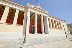 DSCF6525 (MattJo-tw) Tags: 希臘 雅典 deaneryuniversityofathens ακαδημίααθηνών