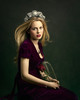 Persephone (Giulia Valente) Tags: portrait portraiture woman beauty beautiful alone cinematic cinema movie story romance romantic one looking light shadow dark beam darkness mood moody atmosphere low key dream inspiring rose glass dome crown