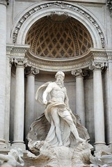 Clementis XII (zawtowers) Tags: rome roma italy italia capital city historic roman empire heritage monday 28 may 2018 summer holiday vacation break warm sunny trevi fountain packed busy people fontana built 1762 water feature sculpture nicola salvi clementis xii figure