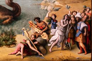Piero di Cosimo: Liberazione di Andromeda, c 1510-15 (Detail)