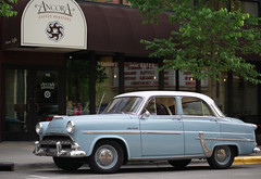 It's all over now, Baby Blue (humbletree) Tags: hudsonjet madison classiccar street