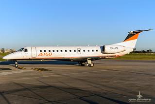 VH-JZG Jetgo Embraer ERJ135 at Essendon Airport 01/07/2017