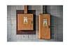 Distribution boards. (tetleyboy) Tags: cet urban urbex frame tiles industrial orange stillife dirty decay 500px