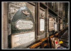 Wall of Monuments (veggiesosage) Tags: stmaryschurch nottingham church aficionados monuments gx20 grade1listed
