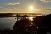 Here comes the sun (nigelboulton72) Tags: sunrise spain summer palm trees beach islacanela andalucia huelva sunstar