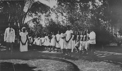 1920s wedding at an aboriginal mission (Aussie~mobs) Tags: gridularlock andrew wedding 1920s aborigines mission methodistinlandmission northqueensland australia vintage ceremony milingimbiisland native indigenous aussiemobs