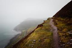 Along the Slope // Kerry Way (Lord Demise) Tags: canon eos 70d ireland irland kerryway trekking hiking camping wandern mountains berge fog nebel ocean meer coast küste wildatlanticway rain regen moody