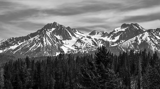 Mountains in northern Idaho
