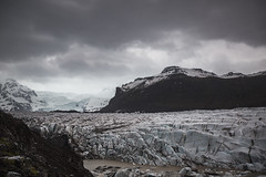 Life in black and white (Frédéric T. Leblanc) Tags: iceland icelandic moment capture create view travel traveller travelling lifestyle explore cinema cinematic mood moody glacier canon 5d mk3 mark3 mkiii markiii nature ice snow cloud clouds cloudy sky teen teenager amateur fun vibe