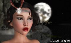 Suzu - asian moon (Alea Lamont) Tags: ndmd suzu asian skins vintage fair vista bento head diana japanese teenager chinese woman girl thai female korean shapes 1920 maitreya body iconic betty hair