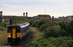 Class 150 Sprinter (Jaybi-94) Tags: northern railway station blackpool pleasure beach