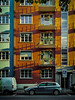 Summer Evening in the City (cs_one) Tags: urban building window balcony street house architecture city car noperson apartment town facade luzern schweiz ch