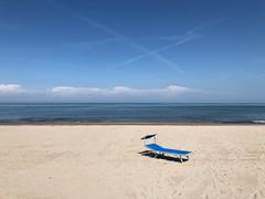 Summertime 2018 - something blue (J&Konrad) Tags: mare rosolina po delta seaside spiaggia beach sea blu blue sdraio