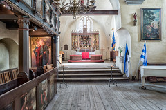 St. Mary's Cathedral, Tallinn (Gösta Knochenhauer) Tags: 2018 may panasonic lumix fz1000 dmcfz1000 church holy ghost spirit kirche kirik tallinn old town estonia eesti vanalinna p9150789nik p9150789 nik interior altar choir
