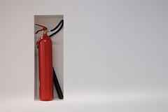 18050836 (felipe bosolito) Tags: white red wal fireextinguisher extinguisher fire geometry minimalism danielliebeskind liebeskind leuphana university lüneburg fuji xpro2 xf1655 velvia