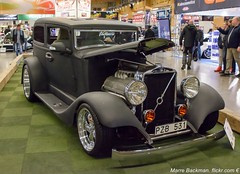 Volvo TR 678. 1934. On Elmia Car show Sweden (Photo Marre Backman) Tags: volvo car cars road black old costum