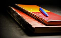 Cuadernos (Jose Rahona) Tags: notebooks boligrafo pen anillas agenda libreta papel paper
