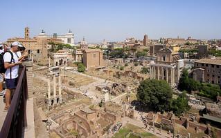 Best spot of the ancient site Forum Romanum
