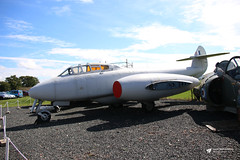 Gloster Meteor, Jet Age Museum, Gloucestershire Airport, Staverton, Gloucestershire (Kev Slade Too) Tags: gloster meteor jetagemuseum gloucestershireairport staverton egbj gloucestershire
