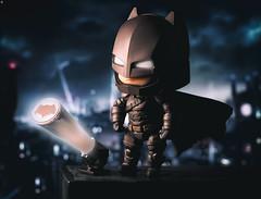 Batman: The Bat Signal (Jezbags) Tags: batman bat signal dc nendoroid gotham city canon canon80d 80d 100mm closeup upclose macro macrophotography macrodreams dark knight justiceleague superhero