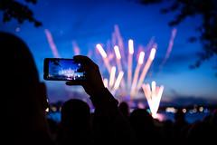 Indirect viewing (xytse13) Tags: hamburg deutschland germany canon fireworks feuerwerk
