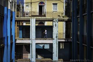 Vedado Apartment Courtyard Havana Cuba