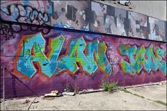Time / Owed / Alan Jade (Alex Ellison) Tags: brighton england uk urban graffiti graff boobs alanjade time osv owed lb