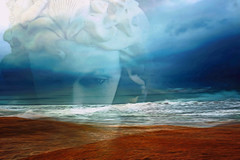 The Impending Storm (Karen Kleis (Back Sunday!)) Tags: storm eyes ominous impending waves ocean clouds sharingart hypothetical shockofthenew