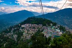 Panoramic view of Gangtok, Sikkim (CamelKW) Tags: sikkimindia2018 gangtok sikkim india in