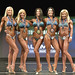 Bikini Masters 45 up 4th Mar 2nd Halleran 1st Larose 3rd Lyoness 5th Parker