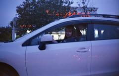 (vmRob) Tags: color 35mm film night nightlife yashica electro 35 gtn analog ye35 y35gtn fl florida out driving car traffic