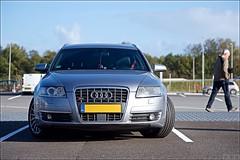 Audi A6 S-line 3.2L V6 sunbathing.