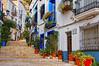 Calle del Barrio de Santa Cruz (juanmzgz) Tags: alicante barriodesantacrus calletípica barriopopular tipismo arquitecturapopular