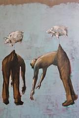Philippe Hérard_8332 rue des Couronnes Paris 20 (meuh1246) Tags: streetart paris ruedescouronnes paris20 philippehérard belleville mouton animaux