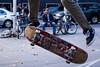 Will he land it? (midgley.derek) Tags: p6100226 streetphotography candi candid skateboard youth man guy trick