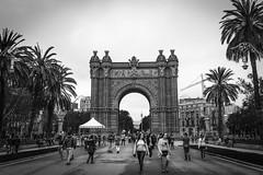 Arch of Triumph Barcelona (www.alexandremalta.com) Tags: alexandremalta people street blackandwhite spain espanha arcodotriumfo barcelona archofthiumph