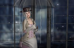 Rainy Days (Rhaenys.) Tags: vintagefair wiccaswardrobe lw lisawalker collaborate deetalez catwa maitreya likedesign arte aviglam powderpack cae truthhair backdropcity glamaffair poz animare victorian steampunk roleplay secondlife virtualgirls virtualfashion rainydays